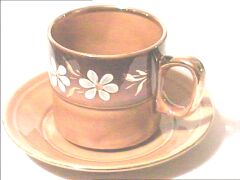 decorated elegant cup